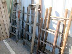wood ladders Nashville Flea Market Petticoat Junktion shopping trip