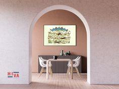 ابعاد الاثر : 28 × 37 Sconces, Wall Lights, Calligraphy, Lighting, Home Decor, Chandeliers, Appliques, Lettering, Decoration Home