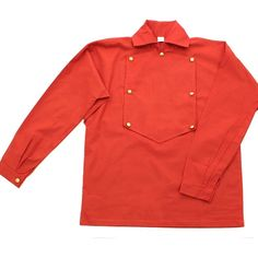 Get this Civil War Fireman's Shirt is a cotton from American civil war clothing store, replica bib shirt with faux bone buttons as used by not only fire brigades, but also some of the Irish brigade and artillery gunners. History Magazine, Civil War Photos, American Revolution, American Civil War, Civilization, What To Wear, Shirts, Clothes, Civil Wars