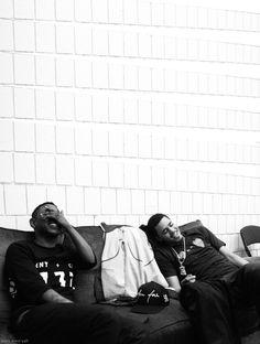 J.Cole & Kendrick Lamar My two favorites