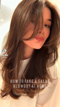 Hair Tips Video, Hair Videos, Hair Up Styles, Medium Hair Styles, Haircuts For Long Hair, Aesthetic Hair, Hair Highlights, Pretty Hairstyles, Hair Looks