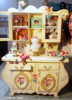 """""""Sweet tooth fairies"""" - Cake by Natalia Da Silva Carmona"""