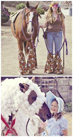 Halloween!  Horse style….