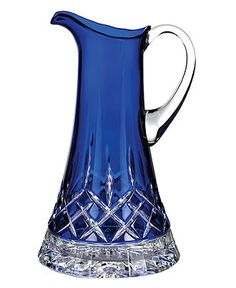 Waterford Pitcher, Lismore Prestige Cobalt
