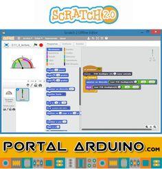 Scratch Curso online Programación Gráfica de Arduino Campus Tecnológico Virtual