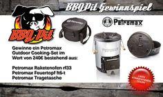 Gewinne ein Petromax Outdoor Cooking-Set im Wert von 240 Euro!