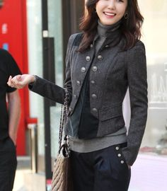 Faux Fur Coats, Peplum Coats - Women's Outerwear by VENUS ...