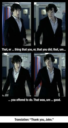 Yes Sherlock, we all know what you're trying to say ;)