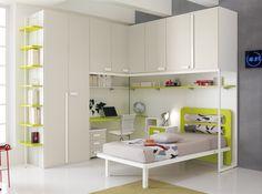 Corner Kids Bedroom Set ONE 502 by SPAR