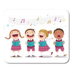 Music Sing, Songs To Sing, Happy Cartoon, Cartoon Kids, Art Drawings For Kids, Drawing For Kids, Kids Singing, Kids Vector, Boy Face