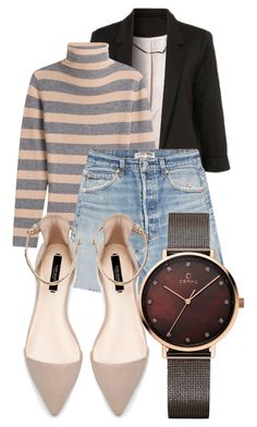 """""""Untitled #649"""" by sammy13ross ❤ liked on Polyvore featuring WithChic, 81 Hours, RE/DONE and Zara"""