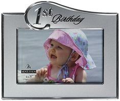 Malden Birthday Two Tone, 4 x 6 inch Picture Frame, Sliver -- Read more at the image link. (This is an affiliate link) Party Photo Frame, Photo Frame Prop, Picture Frame Decor, Picture Wall, Balloon Wall, Living Room Pictures, Diy Frame, Diy Photo, Party Photos