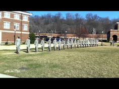 USAF HONOR GUARD 21 GUARDSMEN FIRING LINE!!! Boomers?? Can't tell, cool anyway!