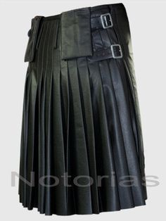 Would love to get this for my husband. Living in Scotland you would've thought it would be easy to find a leather kilt in the cities but, it's actually impossible.