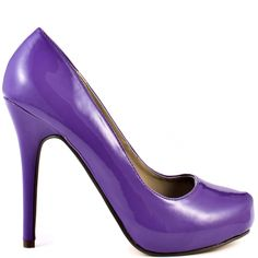 Heels I Love Michael Antonio Love Me - Purple Patent Crazy Heels, Purple Pumps, Shoe Boots, Shoes Heels, Hot High Heels, Stiletto Heels, Christian Louboutin, Lilac, Lavender