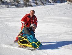 #ski #handisport en #tandemski