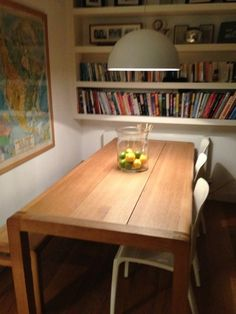 Larger Dining Table In Small Area