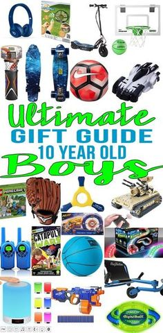 Best Gifts For 11 Year Old Boys Gift Guides Pinterest