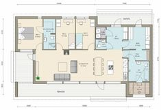 # House Floor Plans, Cottage, Flooring, How To Plan, Deco, Architecture, Home, Dreams, Layouts