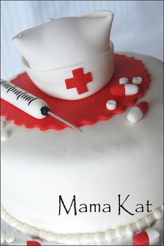 Nurse Cake | Flickr - Photo Sharing!