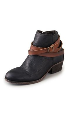 Dying that these are sold out // H by Hudson Horrigan Wrap Strap Booties