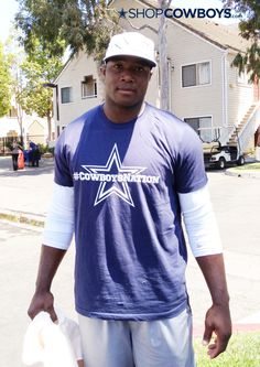 DeMarcus Ware is part of #CowboysNation, are you?