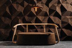 Пробковые покрытия   Gencork Home Design, Interior Design, Design Design, Design Trends, Sustainable Furniture, Sustainable Design, Sofa Furniture, Furniture Design, Chair Design