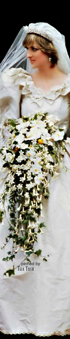 ❈Téa Tosh❈July 29, 1981: Lady Diana Spencer marries Prince Charles at St. Paul's…