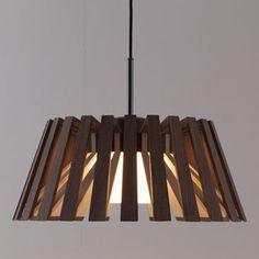 Rita lamp by Kakishita Woodworks