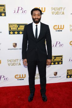 Actor Chiwetel Ejiofor attends the 19th Annual Critics' Choice Movie Awards at Barker Hangar on Jan. 16, 2014 in Santa Monica, California.