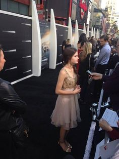 Mackenzie Foy @ Interstellar movie premiere - October 26, 2014