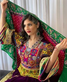 to order direct Dm WhatsApp custom stitching colour can be changed   Traditional Fashion, Traditional Dresses, Folk Fashion, Womens Fashion, Ethnic Fashion, Afghani Clothes, Afghan Wedding, Afghan Girl, Afghan Dresses