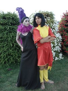 Yzma and Kuzco Cosplay Disney's The Emperor's New Groove