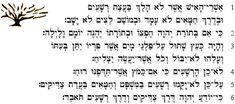 Worship & Praise: Psalm 1 in Hebrew