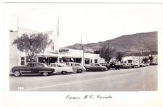 BC – OSOYOOS, Street Scene and Hardware Store, Walker c.1956-1965 RPPC