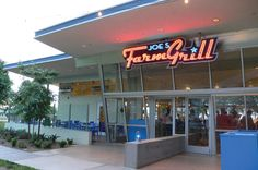 Joe's Farm Grill in Gilbert Arizona,  one of our fav places to eat outdoors