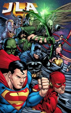 #Justice #League #Fan #Art. (JLA) By: GabeEltaeb.