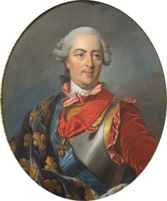 Tea at Trianon: Portrait of Louis XV