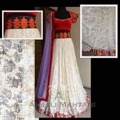 Latest Indian & asian Anarkali suits Pishwas Dresses & Long Frocks for women 2015-2016 (6)