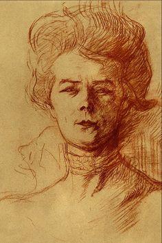 Portrait Drawing Category:Late works by Henri de Toulouse-Lautrec - Wikimedia Commons Henri De Toulouse-lautrec, Life Drawing, Figure Drawing, Pierre Auguste Renoir, Impressionist Art, French Art, Portraits, Artist At Work, Van Gogh