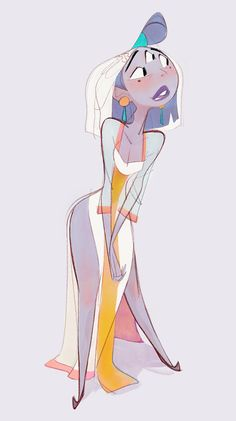by James Wood - Illustration, Character Design, Girl Character Design, Female Character Design, Amazing Art