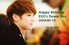awesome Happy 25th Birthday LUHAN! 04.20.2014