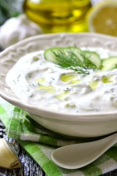 Tzatziki - traditional greek sauce.