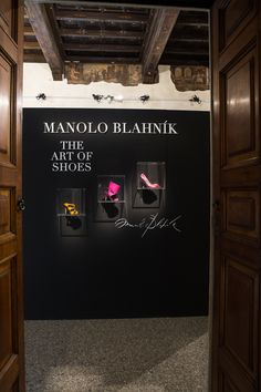 "The exhibition ""Manolo Blahnik - The Art of Shoes"" is divided into six theme areas and is curated by Cristina Carrillo de Albornoz. Exhibition ""Manolo Blahnik, The Art of Shoes""  from 26 January to 09 April 2017 curated by Cristina Carrillo de Albornoz sponsored by Municipality of Milan 