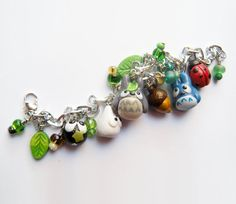 My Neighbor Totoro charm bracelet