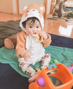 kawaii Bebe Mamang 可愛い ღ Cute Baby Boy, Cute Little Baby, Little Babies, Cute Kids, Baby Kids, Cute Asian Babies, Korean Babies, Asian Kids, Cute Babies
