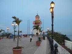 El Faro. Atardecer en Guayaquil - Guayaquil Perla del Pacífico - Viajeros.com