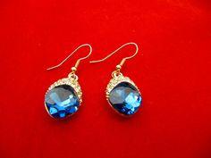 Shine Gold Filled Drop Earrings