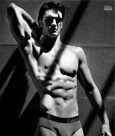 Calvin Klein Male Underwear Models | The newest face of Calvin Klein underwear, New Jersey native Matthew ...