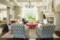 Lovely Chair And A Half With Ottoman Sale Decorating Ideas Gallery in Living Room Transitional design ideas
